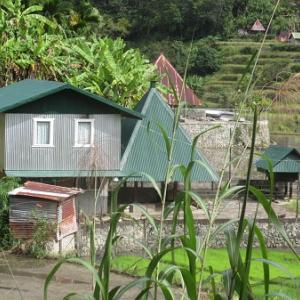 とんがり屋根の町(フィリピン)