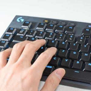 【ロジクールG913 レビュー】背の低いキーを採用し、高速入力が可能な次世代ゲーミングキーボード