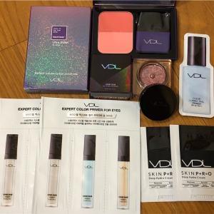 VDL購入品@韓国 チーク&アイシャドウ おまけも少し