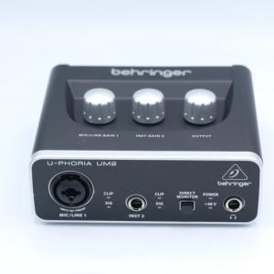 behringer(ベリンガー)UM2 U-PHORIAをレビュー。5,000円未満で買える激安オーディオインターフェイス