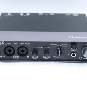 Steinberg UR24Cをレビュー。多様なモニター環境を作れるオーディオインターフェイス