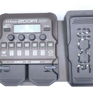 ZOOM A1X FOURをレビュー。アコースティック楽器向けのマルチエフェクター