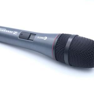 SENNHEISER e865-Sをレビュー。繊細な音が録れるライブで使えるコンデンサーマイク