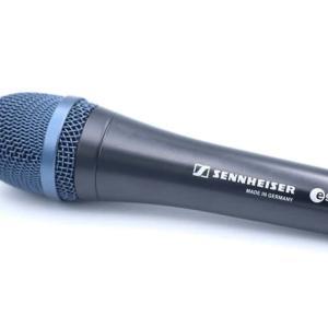 SENNHEISER e945をレビュー。高音の抜けが良い指向性を絞ったダイナミックマイク
