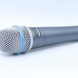 SHURE BETA57Aをレビュー。ボーカルにも使われる楽器用マイク