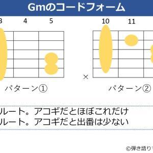 Gmコードの押さえ方。キレイに鳴らすポイントや使用するパターンを解説
