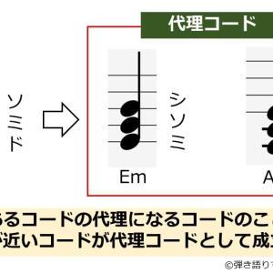 代理コードとは?一覧表を基に楽曲での組み込み方など定番パターンを解説