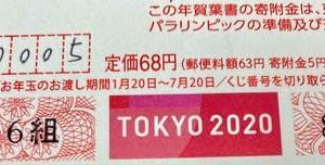 2020年 年賀状当せん番号!