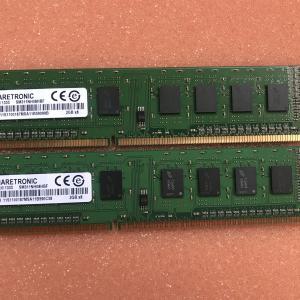 【メモリ】SHARETRONIC  デスクトップ用 PC3-10600U DDR3-1333 【中古】