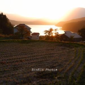 長野県の風景*2019年紅葉巡るドライブ旅-野尻湖