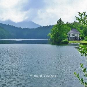 長野県の風景*2019夏の車旅-斑尾高原の池