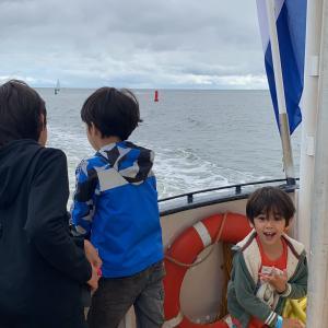 テッセル島 8月25日 TX44(ボート観光) ②