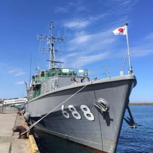 掃海艇『あいしま』『すがしま』が新潟に来ているとのことで、見に行ってきました!