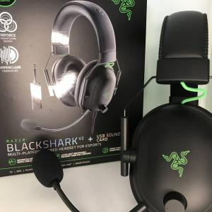 Razer BlackShark V2レビュー:コスパが良く軽量ゲーミングヘッドセット