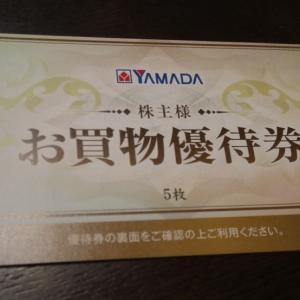 株主優待 ヤマダ電機 500円券×5枚