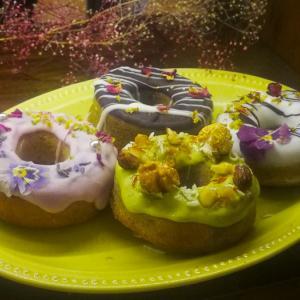 高円寺の花カフェ グムグム|お花のドーナツがかわいい インスタ映え