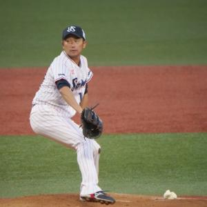 石川投手。