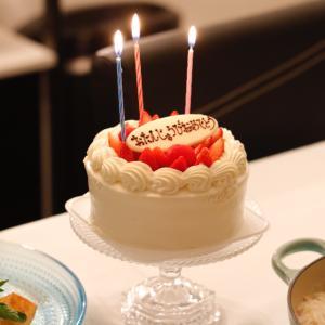 旦那さんの誕生日*おうちでパーティー