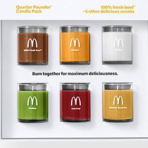 マクドナルド好きにも程があるw ハンバーガーの香りのキャンドルが発売されてしまう!