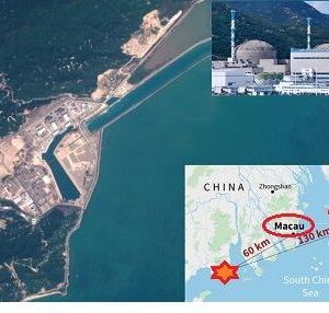 中国原発「放射性希ガスを大気中に放出」とフランス電力が発表、香港・マカオは大丈夫?