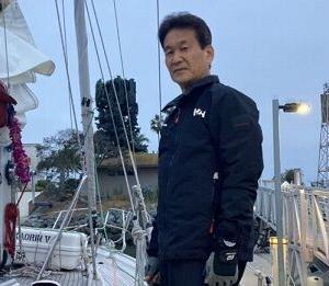 辛坊治郎氏、米・サンディエゴから日本に向けてヨットで出発、台風を避けながら帰国へ