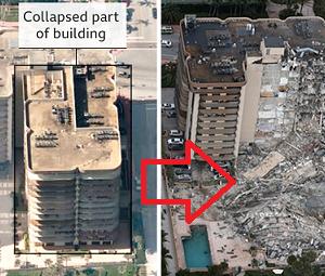 またビル崩壊 51人行方不明 ・・・中国だと思ったら今度はアメリカ・マイアミ