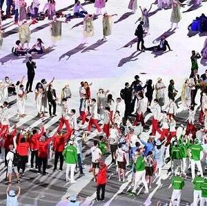 """東京五輪 開会式 「旭日旗演出があった」と韓国メディアが """"旭日旗コード"""" の存在を問題視"""