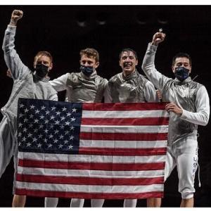 東京五輪 フェンシング米国チーム「素晴らしい舞台をありがとう。日本中の皆さんに感謝している」
