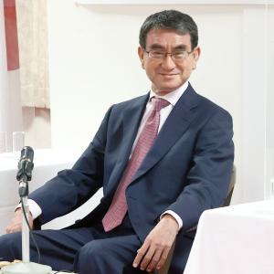 対中非難決議、岸田・高市・野田「採択すべき」 河野は回答拒否!