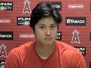 MLB 大谷翔平、「エンゼルスに残留したい気持ちは?」の質問に、「球団は好き。ただ、それ以上に勝ちたい」