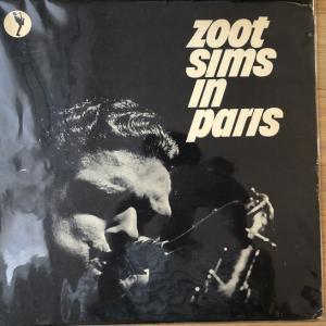 【浸れるJazz】Zoot Sims In Paris(ズート・シムズ・イン ・パリ)UAJ 14013