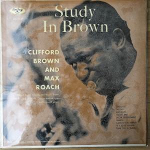 【帝王の貫禄】Clifford Brown And Max Roach Study In Brown MG 36037