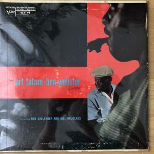 【儚くも切ない】Art Tatum Ben Webster Quartet MGV-8220 オリジナル盤レビュー