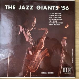 【リラックスに酔いしれる】Lester Young The Jazz Giants '56 MGN-1056 オリジナル盤も紹介