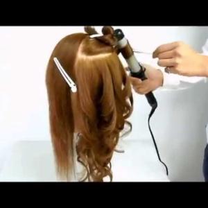 【コテでの巻き髪/巻き方】ZENのHow to ヘアセット2How to make curl hair with tongs