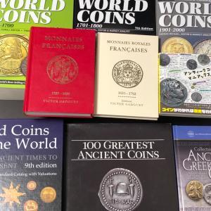 コインの書籍