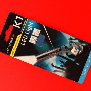 Ledlenserのフラッシュライト K1 の使用感レビュー:キーライトとして使うといい感じ