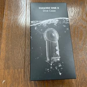 Insta360 ONE X 潜水ケースを試してみた。