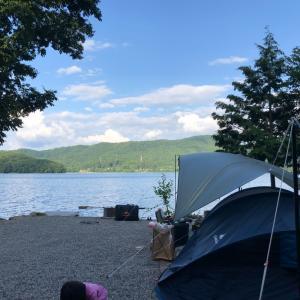 2019年夏休みキャンプは青木湖へ!その2