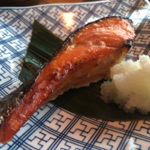 「えん」で秋鮭定食@汐留