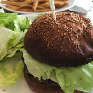 バビーズでハンバーガー@汐留