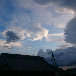 西の空から東の空❗( ̄▽ ̄;)