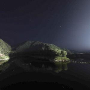 室生ダムへ星空を撮影にいきましたが・・・(奈良県宇陀市)