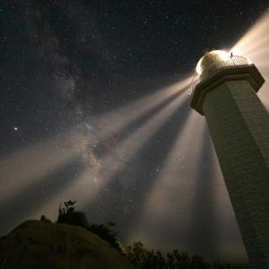紀伊日ノ御埼灯台へ星空の撮影に行きました(和歌山県日高町)