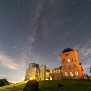 夜の西はりま天文台へ星空の撮影に行きました(兵庫県佐用町)