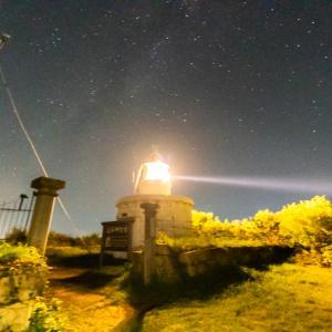 立石岬灯台へ星空の撮影に行きました(福井県敦賀市)