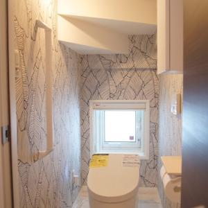 3階建てi-smartのWeb内覧会 『1Fの階段下トイレ』