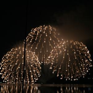山中湖の花火大会