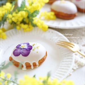 胸キュン!なレモンケーキと。