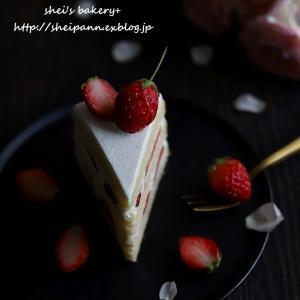 詰めが甘いカットケーキ